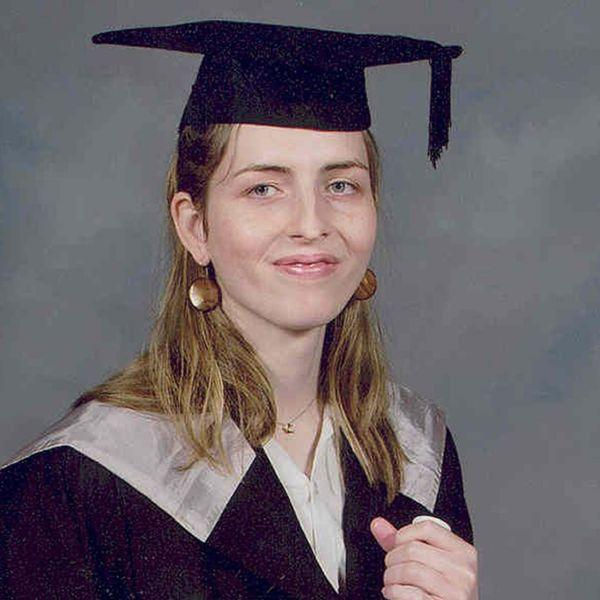 GENDER ISSUES: Andrea Waddell, a graduate of Durham University