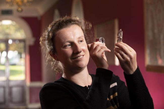 Jewellery expert Beth Elstob has been cataloguing lots for the specialist sale at Newby Hall