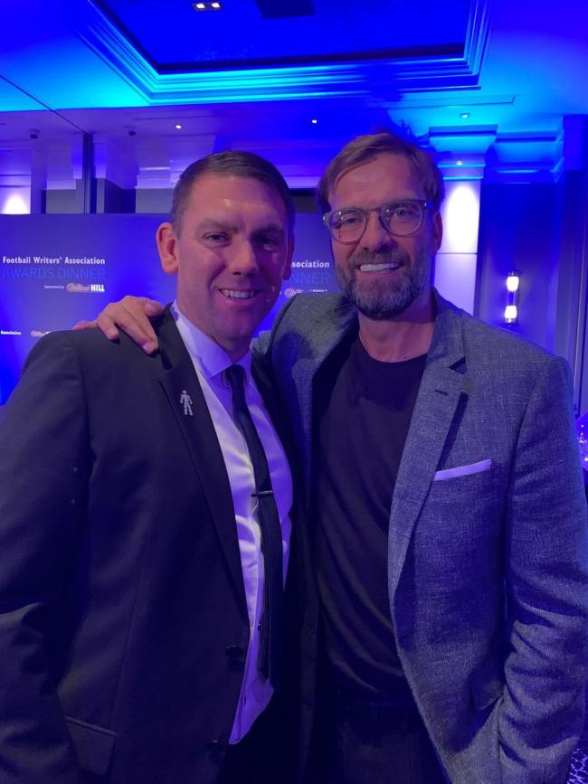 Dave Challinor and Jurgen Klopp