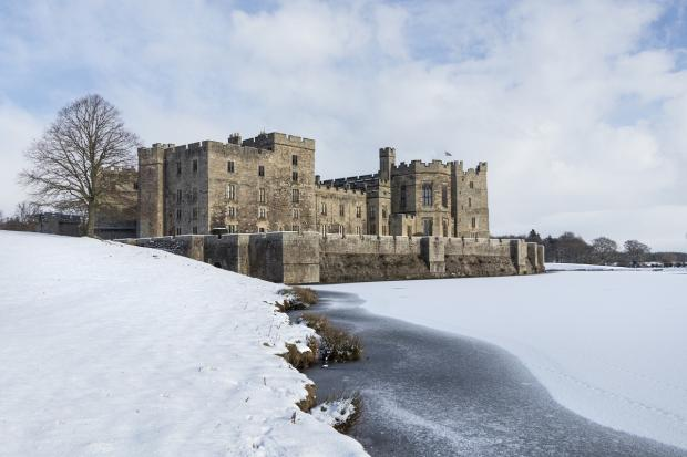 The Northern Echo: The beauty of Raby Castle in winter