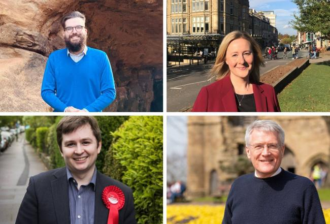 The candidates standing for the Harrogate and Knaresbrough seat