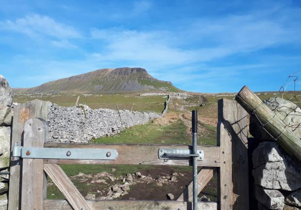 The Northern Echo: Pen Y Ghent: The climb