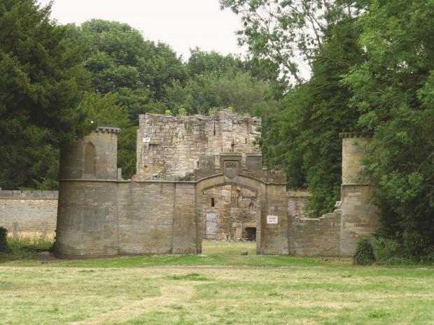 The Northern Echo: Ravensworth Castle from The A-Z of Gateshead