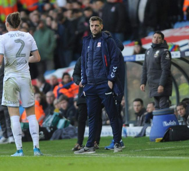 Woodgate reacts to heavy Boro defeat at Leeds and looks to January