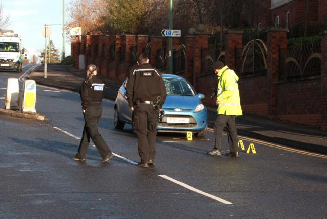 Emergency services are on the scene of a crash in Newcastle Road, Chester-le-Street