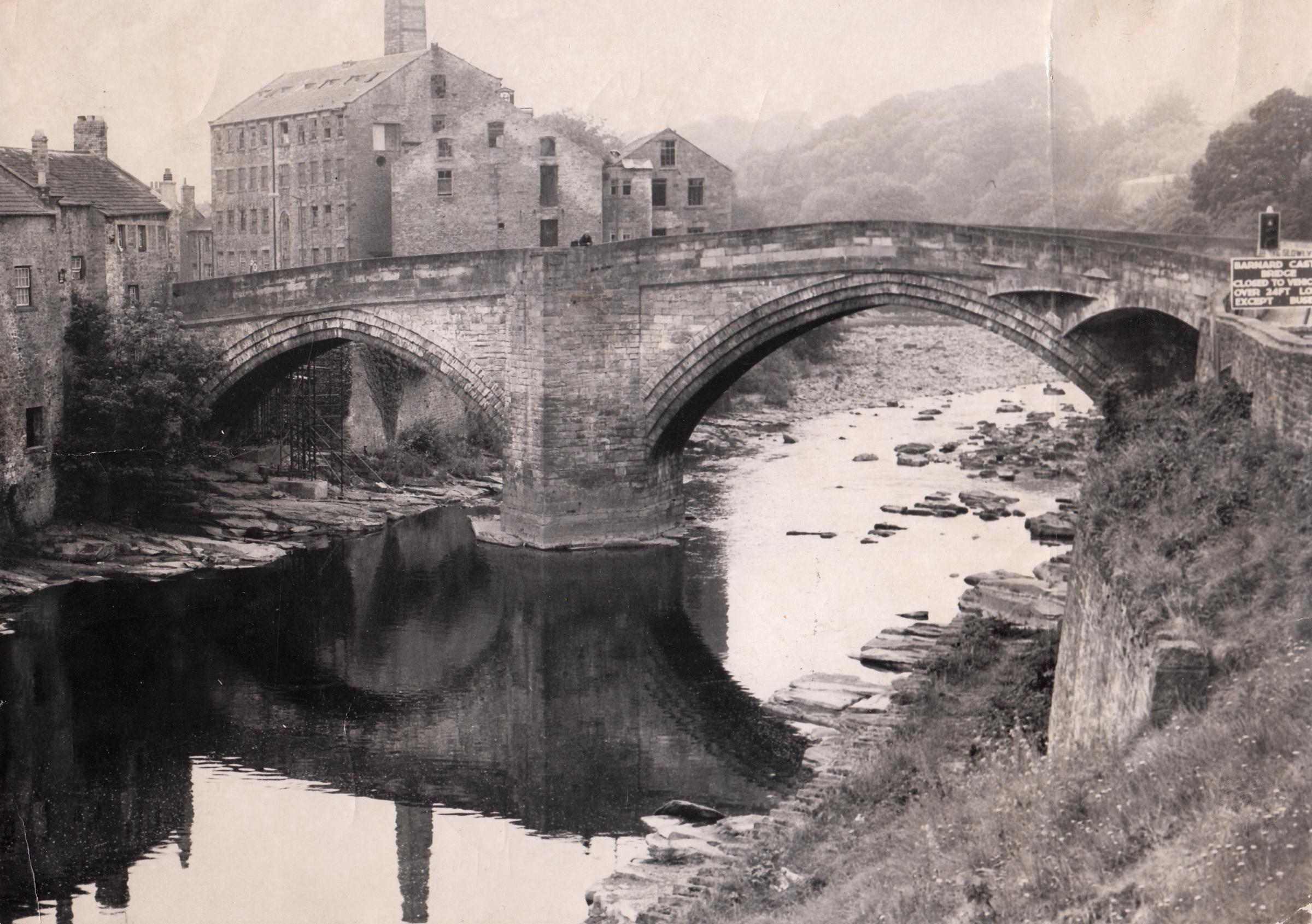 Why a stonemason carved the wrong date on Barnard Castle's 450-year-old County Bridge