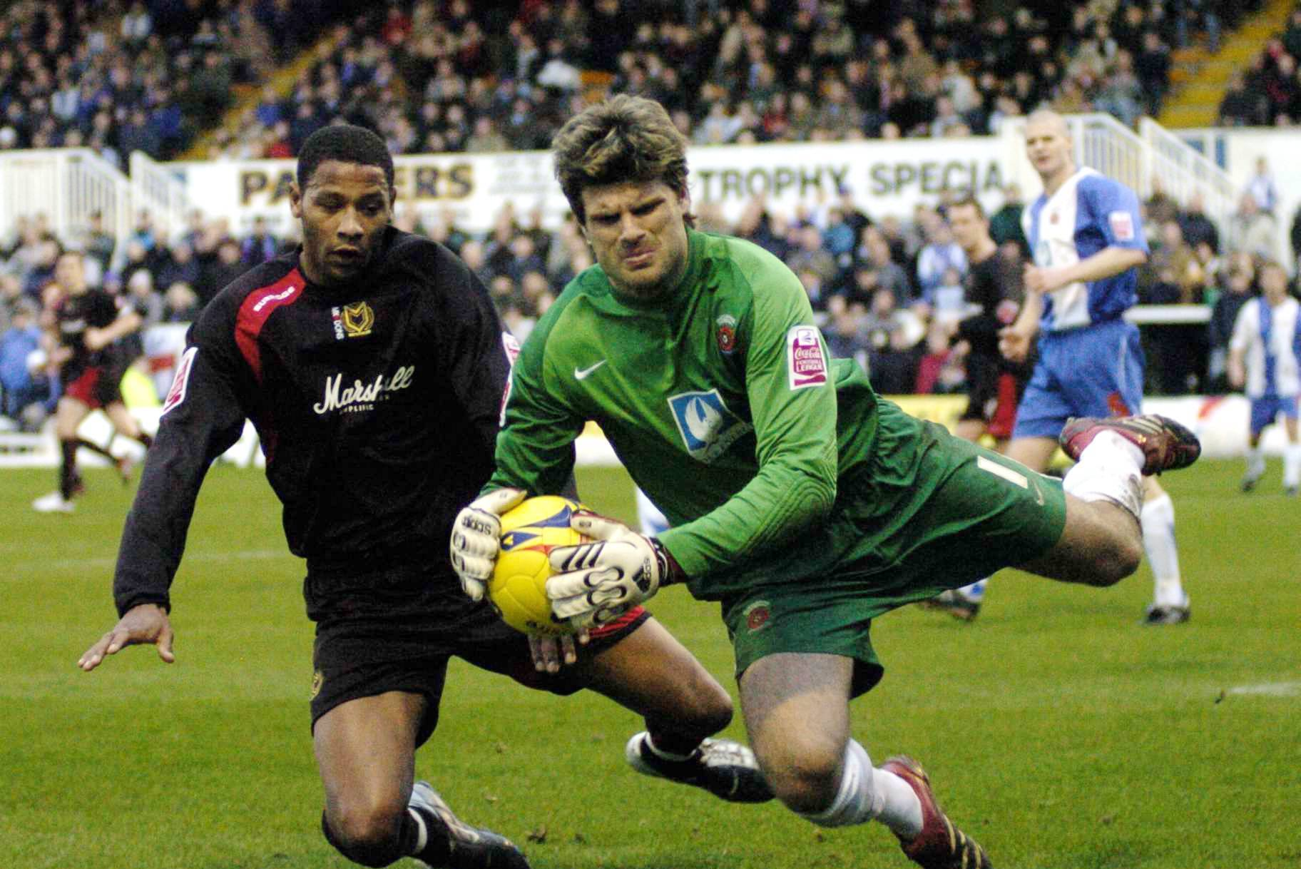 Former Boro keeper could sign permanently for Pools