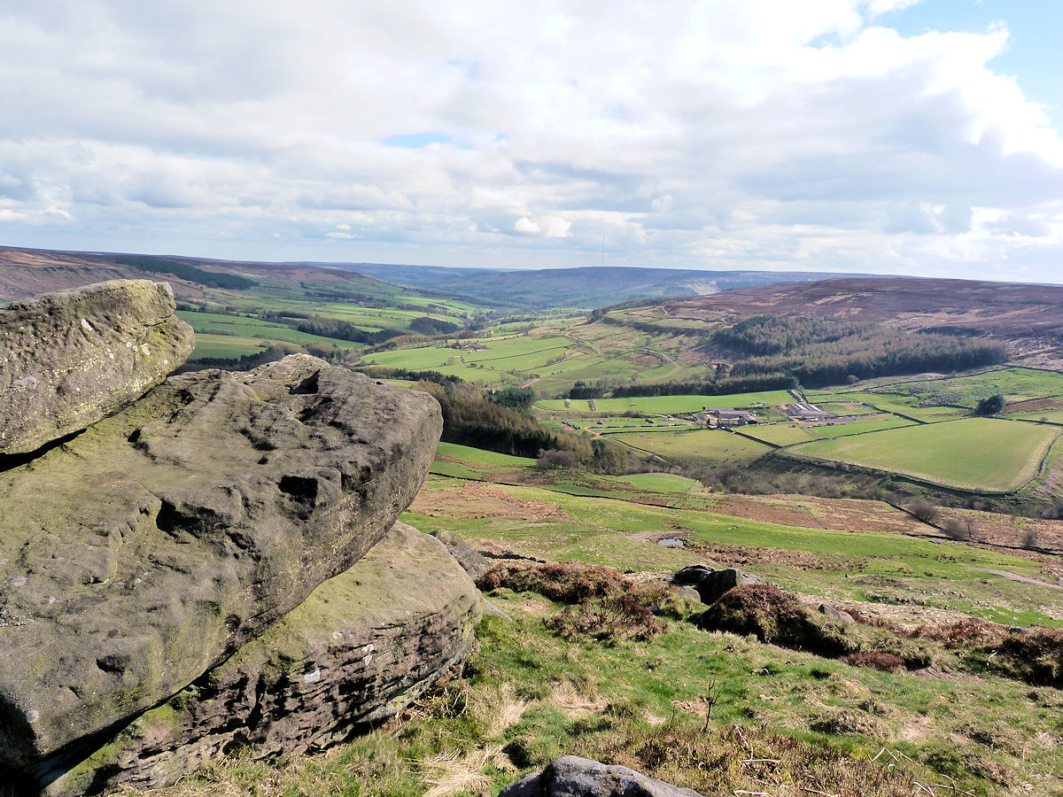 A walk near some of North York Moors most dramatic scenery