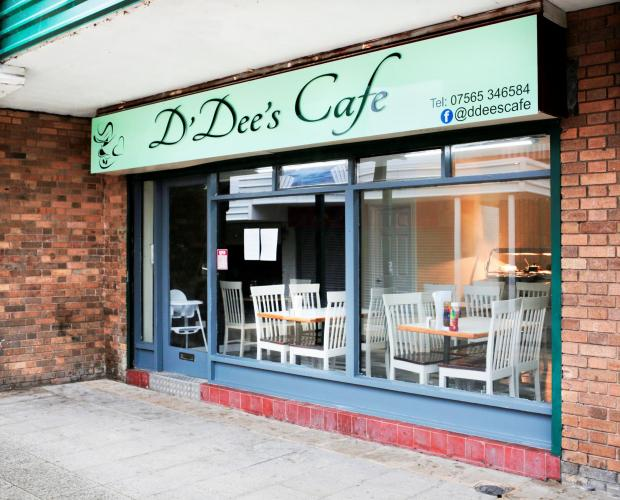 The Northern Echo: D'Dee's Cafe in Eston. Picture: Stuart Boulton