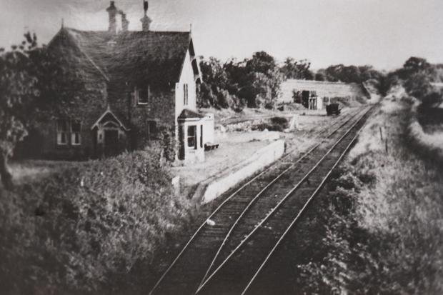 The Barton stationmaster's house on the Darlington and Merrybent Railway