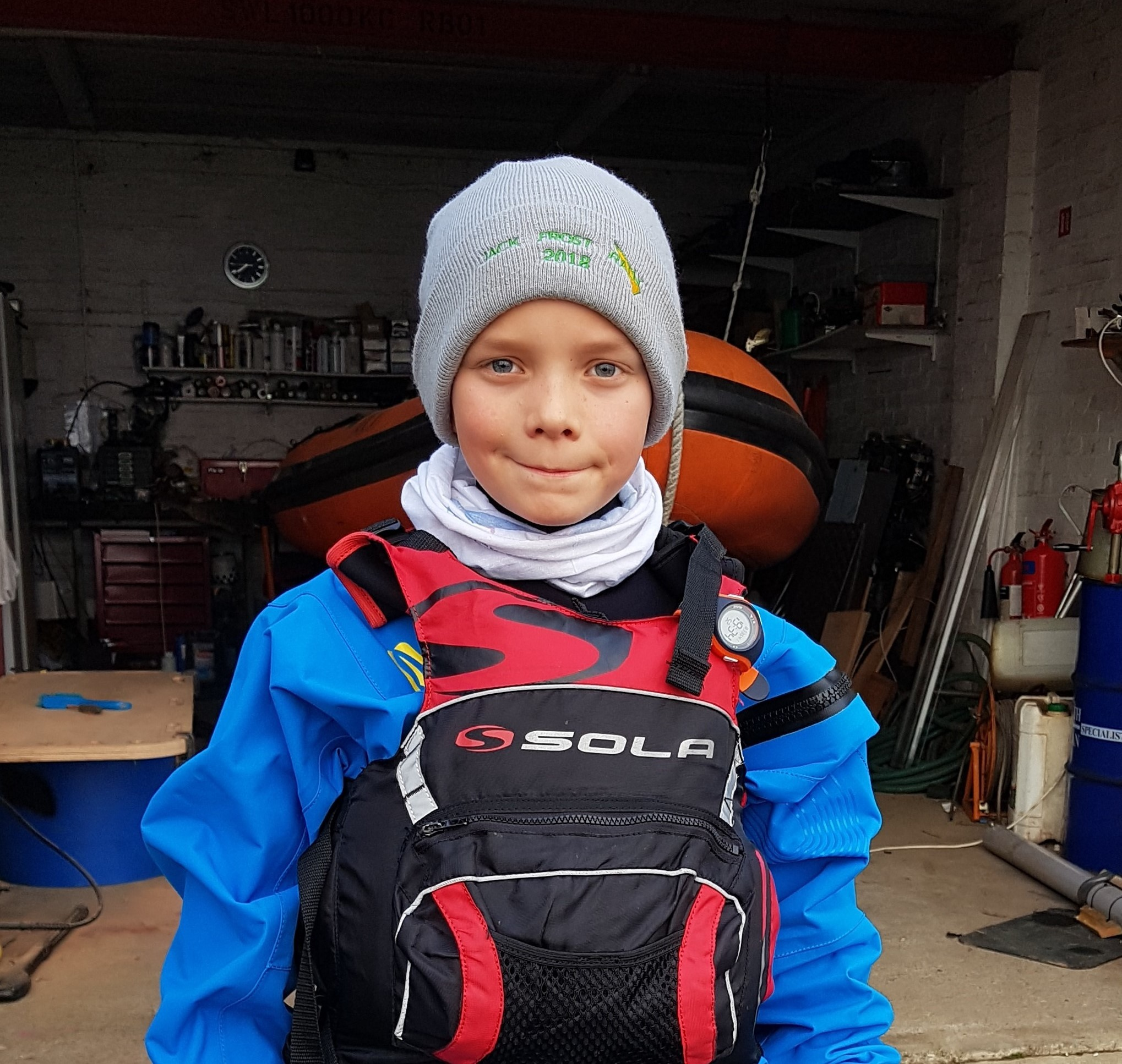Teesdale youngster to sail high seas after being awarded new boat