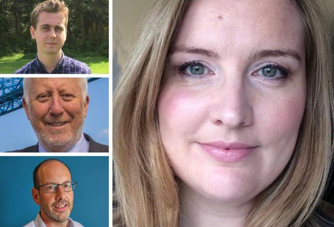 Some of the candidates standing for the Middlesbrough constituency
