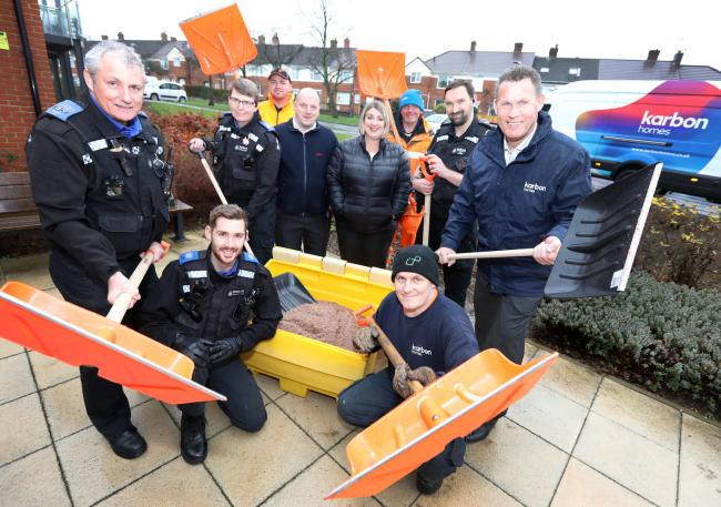Volunteers are needed to help clear snow when the wintry weather arrives in the region