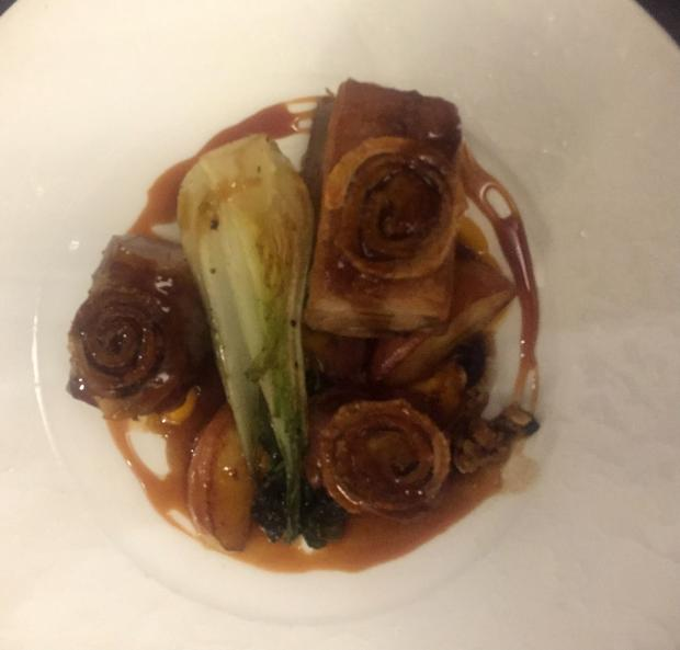 The Northern Echo: The Tasting of Yorkshire Pig at the King's Arms, Great Stainton – dish of the year