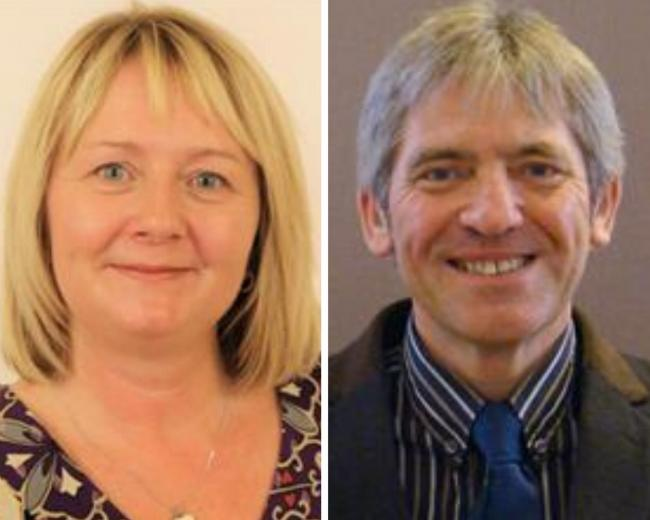 Durham county councillors Jude Grant and Peter Brookes have quit the Labour Party