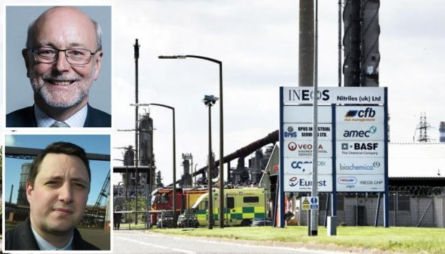 INEOS made the announcement on Tuesday