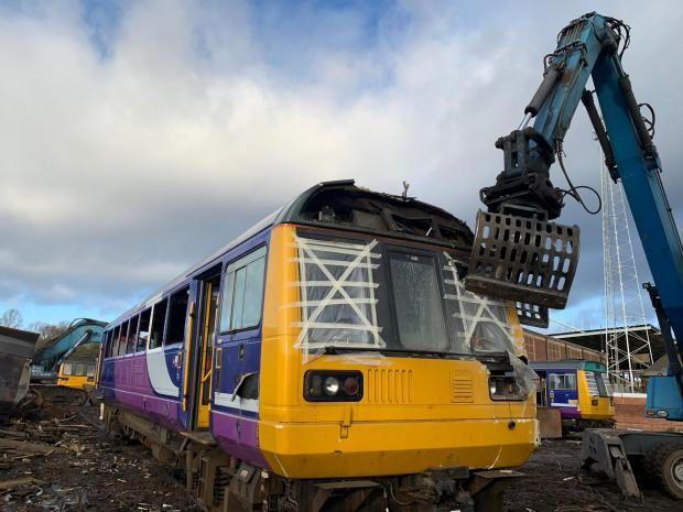 The Northern Echo: The Tees Valley Mayor Ben Houchen previously slammed the firm for the continued operation of the Pacer train