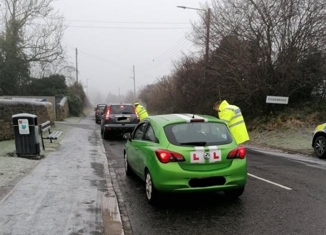 Durham and Cleveland RPU carry out roadside checks as part of the annual winter drink and drug driving awareness campaign