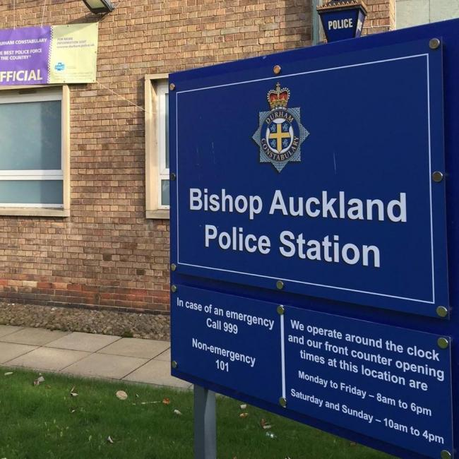 Appeal for donations of foodstuffs to be made at Bishop Auckland Police Station after theft from elderly member of public twice in last ten days