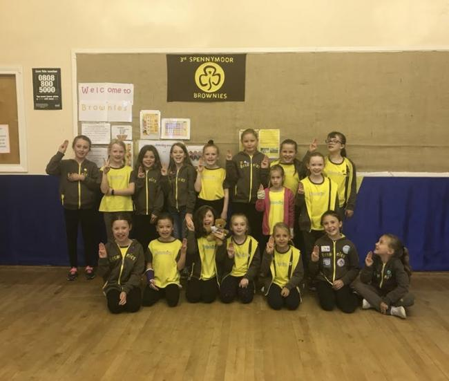 The 3rd Spennymoor Brownies unit won a £250 grant from Venator's Together Fund