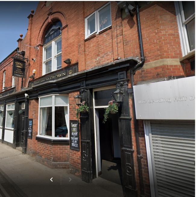 Incident took place in beer garden at back of the High Crown pub, in Chester-le-Street  Picture: GOOGLE