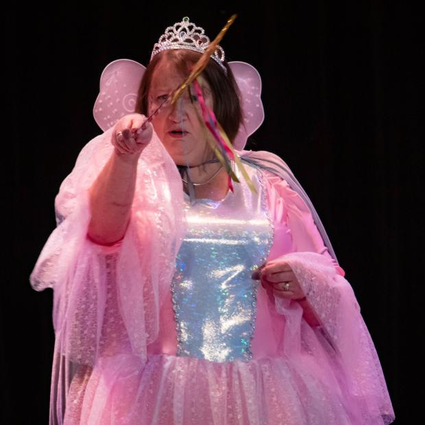 The Northern Echo: Christine Humphrey as the Fairy Godmother