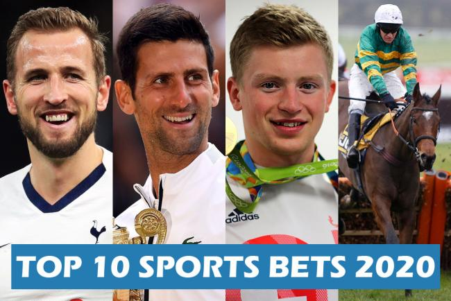 Scott Wilson's top ten sporting bets for 2020