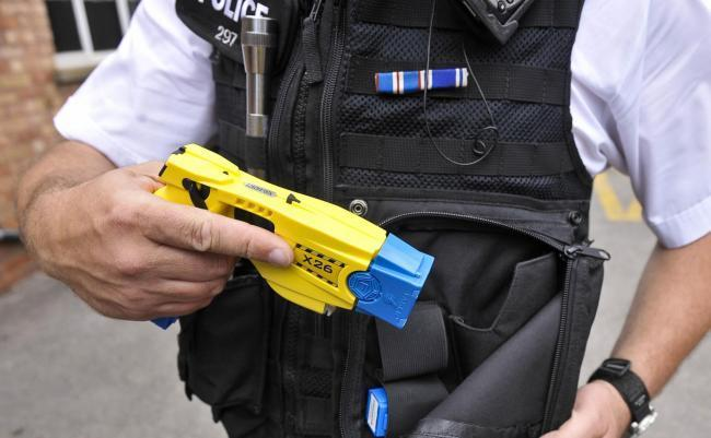Bidding starts to equip more officers with tasers