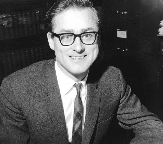 Harry Evans, editor of The Northern Echo from 1961-65