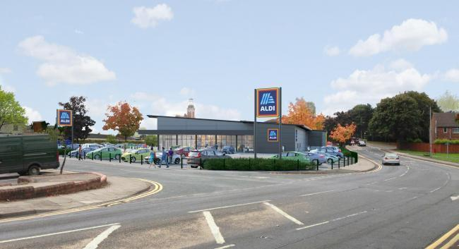 How the proposed new Aldi store for Spennymoor would look