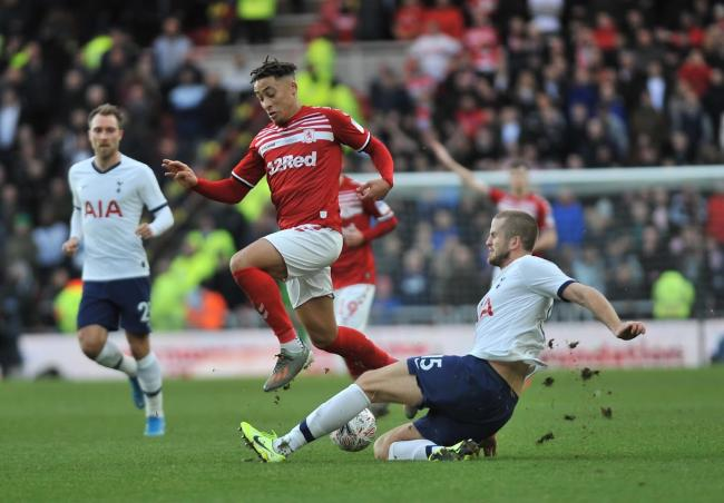 Middlesbrough's FA Cup replay against Tottenham will take place on Tuesday, January 14