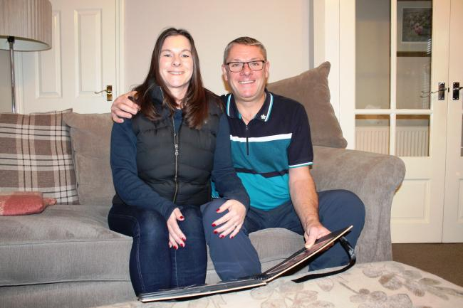 Alan Lambert embarked on a mission to fundraise after his wife Joanne, was diagnosed with dementia