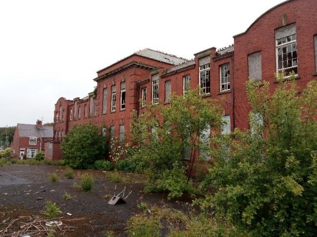 The former Easington Colliery Primary School,