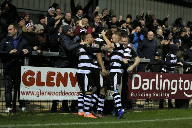 Darlington will start their season as planned this weekend after a National League bailout package was agreed