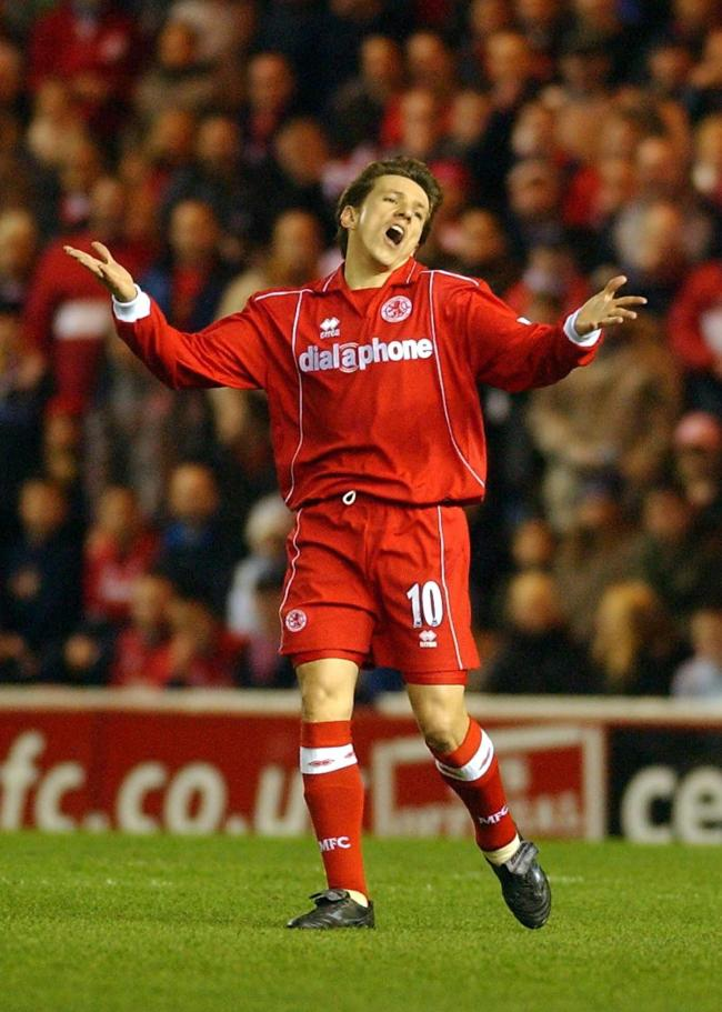 Could a statue of Juninho be erected in Middlesbrough. Picture: PA ARCHIVE