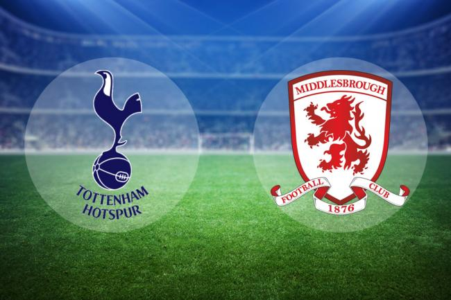 LIVE: Tottenham Hotspur v Middlesbrough (FA Cup replay)