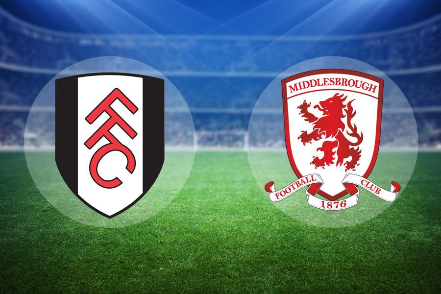 LIVE: Fulham v Middlesbrough