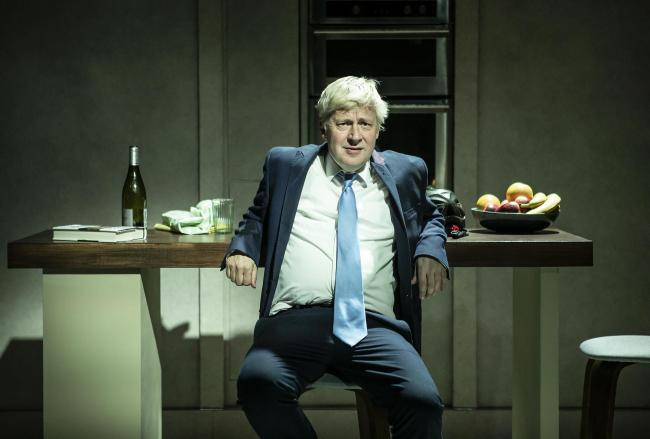 Will Barton as Boris in The Last Temptation of Boris Johnson. Photo: Pamela Raith