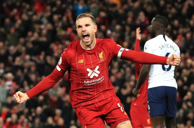 Jordan Henderson has been Liverpool's talisman this season - leading the Premier League leaders both on and off the pitch