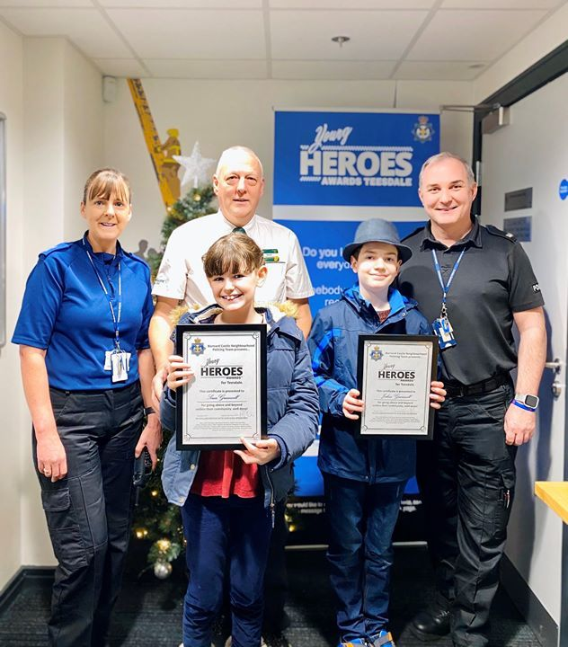 Teesdale youngsters crowned Young Heroes