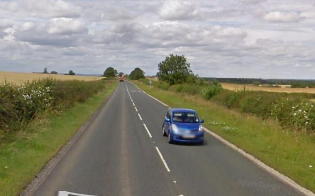 Air ambulance at scene as occupant trapped in car on A167 Picture: GOOGLE