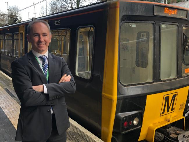 Metro's head of service delivery James McCaffery has become one of the star's of the new documentary about the Tyne and Wear rail network