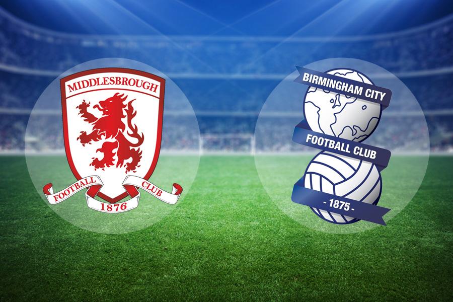 LIVE: Middlesbrough v Birmingham City