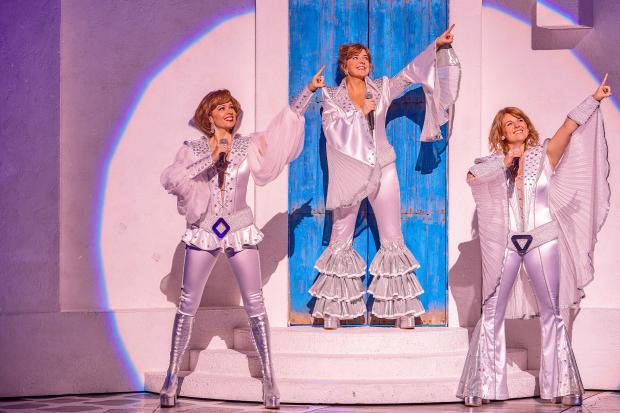 Mamma Mia is on at Newcastle Theatre Royal until February 8