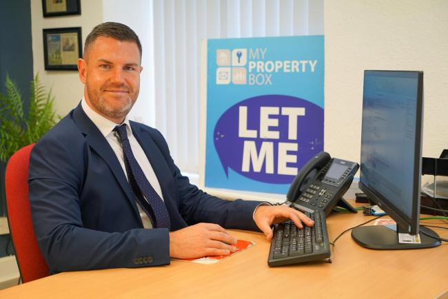 Ben Quaintrell, managing director of My Property Box