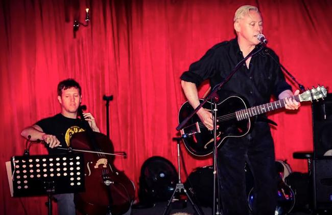 Kirk Brandon and Sam Sansbury
