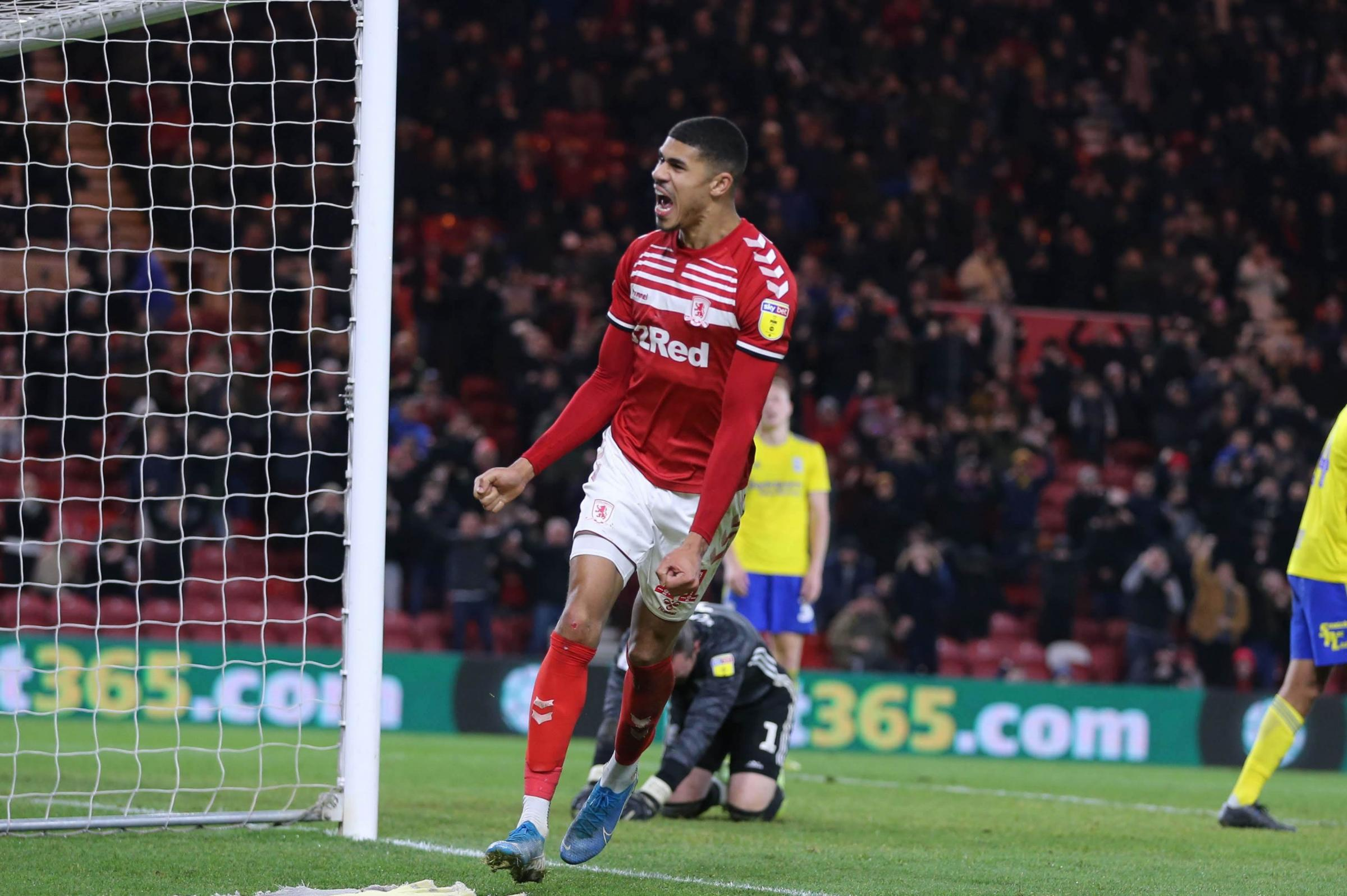Ashley Fletcher establishes himself as Middlesbrough's main man