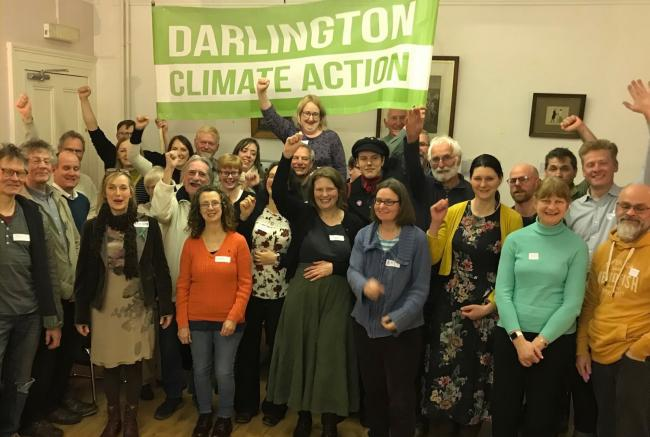 The first meeting of Darlington Climate Action