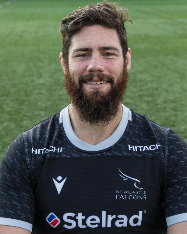 The Northern Echo: Newcastle Falcons' Greg Peterson. Picture: Chris Lishman
