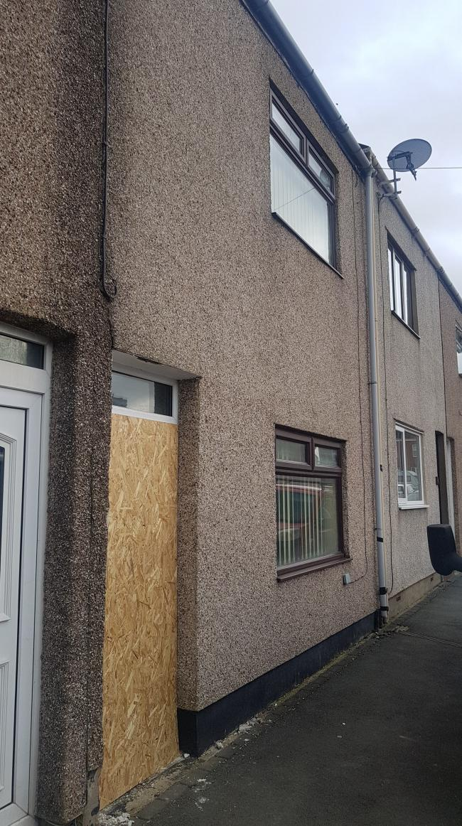 Approximately 200 Cannabis plants were found at the property in Wood Street, in Spennymoor